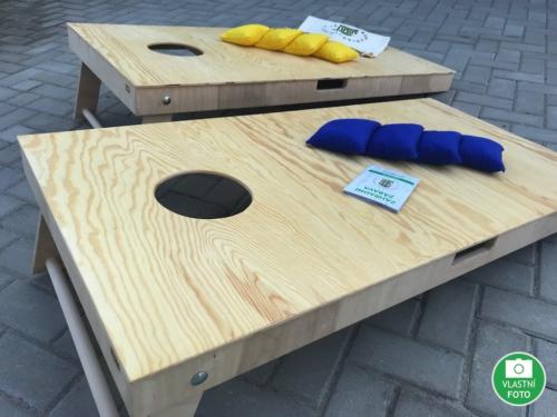 Cornhole dřevěné provedení