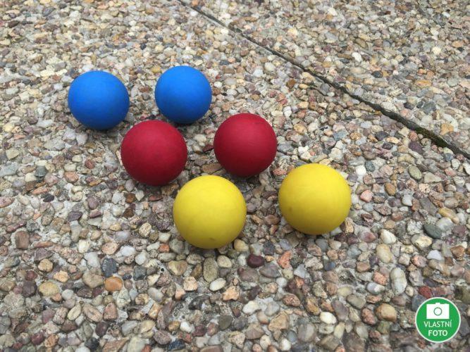 Garden-rondo míčky